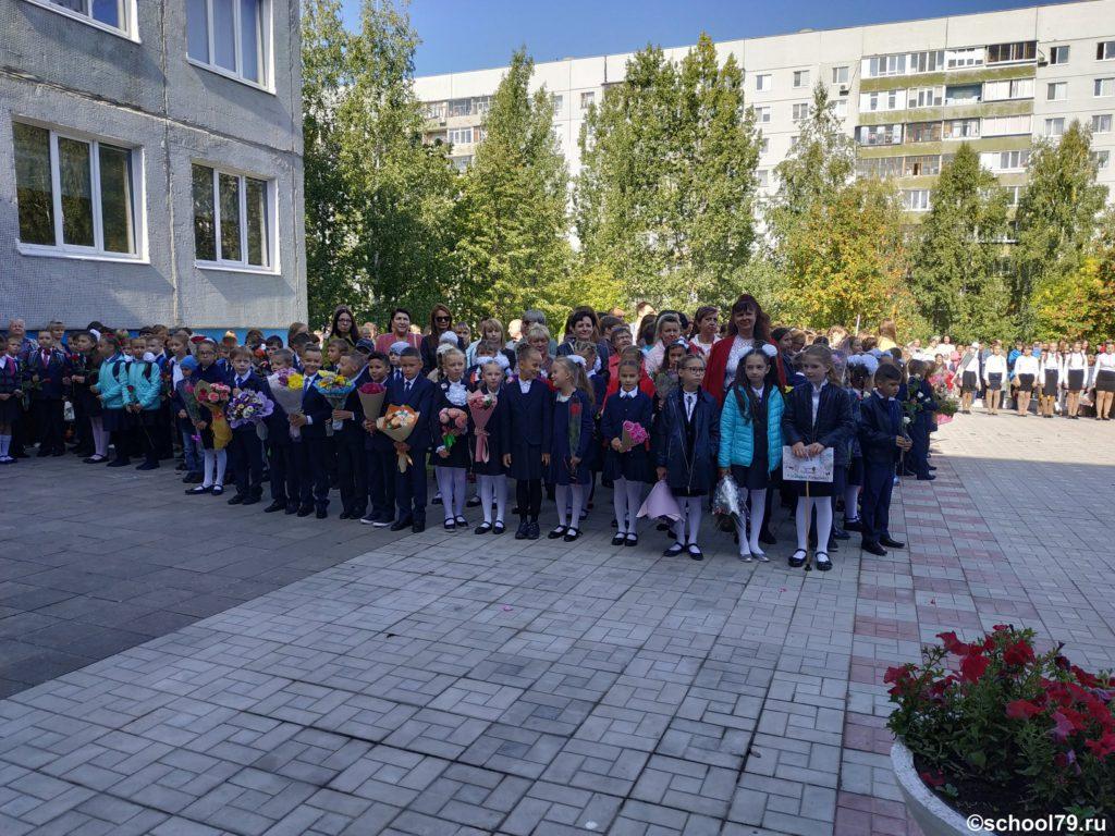 День знаний. Гимназия 79 Ульяновска