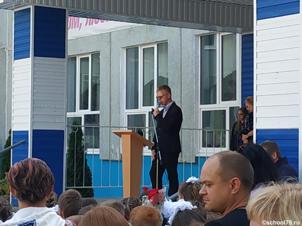 Председатель родительского комитета гимназии Графов Дмитрий Александрович