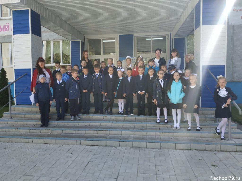 3 А класс гимназии № 79 Ульяновска. 2 сентября 2019