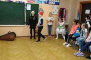 Новогодний праздник в 4 А классе. Кл.руководитель Чабанова Т.А.